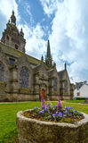 The parish of Saint-Thegonnec, Brittany, France. Royalty Free Stock Photo