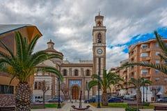 Parish of St. Peter the Apostle Grao Castellon Stock Photography