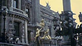 Parisi historische Opera Garnier stock video