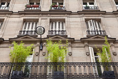 Parisian Apartment. Typical Parisian apartment living architecture Royalty Free Stock Photos