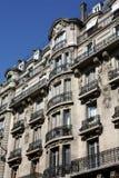 Parisian apartment building Royalty Free Stock Photography