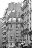 Parisian Apartment Building Stock Photos