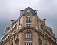 Parisian Apartment on Corner Royalty Free Stock Image