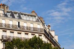 Parisian apartments Royalty Free Stock Images