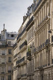 Parisian architecture. In Paris, France Royalty Free Stock Images