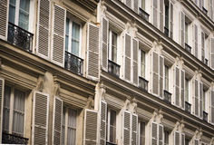 Parisian architecture. In Paris, France Stock Photo