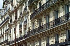 parisian arkitektur Arkivbilder