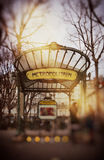 Parisian Art Nouveau Royalty Free Stock Photo