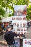 Parisian Artist Stock Images