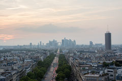 Parisian avenue Stock Photos