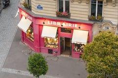 Parisian bookshop Royalty Free Stock Photos