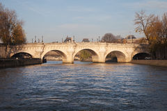 Parisian bridge Pont Neuf, France. Royalty Free Stock Photos
