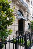 Parisian building entrance Stock Photos