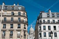 Parisian building Stock Images