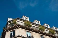 Parisian building Stock Photography