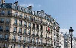 Parisian buildings Stock Photography