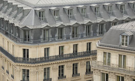 Parisian buildings Royalty Free Stock Photos