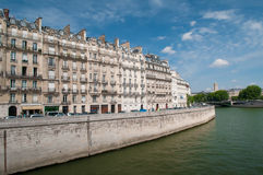 Parisian buildings Stock Images
