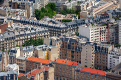 Parisian buildings. Royalty Free Stock Images