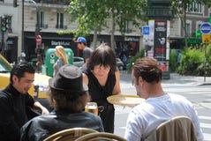 Parisian cafe. Stock Image
