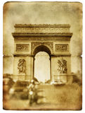 Parisian cards series Royalty Free Stock Images
