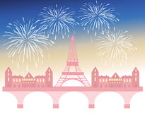 Parisian celebration Stock Photos