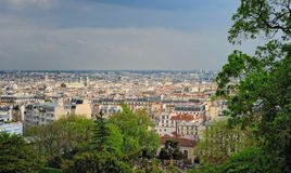 Parisian cityscape Stock Photos