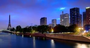 Parisian cityscape in morning Royalty Free Stock Photography