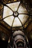 Parisian court (Parisi Udvar), Budapest. Parisian court (Parisi Udvar) in Budapest, Hungary Royalty Free Stock Photos