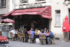 Parisian Crepes Royalty Free Stock Images