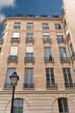 Parisian elegant fa�ade Royalty Free Stock Photo