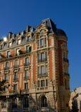 Parisian facade, Guynemer street Stock Photos