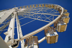Parisian Ferris Wheel Stock Photo