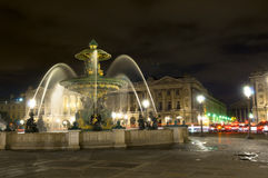 Parisian fountain Stock Photos