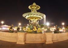Parisian fountains Royalty Free Stock Image