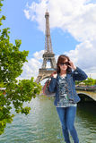 Parisian Girl Royalty Free Stock Photography