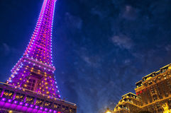 Parisian Hotel Eiffel Tower Royalty Free Stock Photo