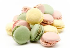 Parisian macarons Stock Photo