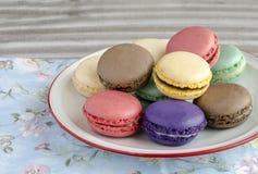 Parisian Macarons Royalty Free Stock Photography