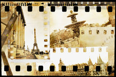 Parisian memories Royalty Free Stock Image