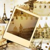 parisian minnen Arkivfoto