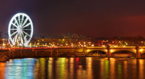 Parisian Night Stock Photos