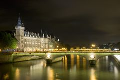 Parisian Nights Royalty Free Stock Photos