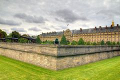 Parisian old residence Royalty Free Stock Images