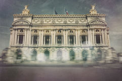 Parisian Opera - Palais Garnier Stock Photo