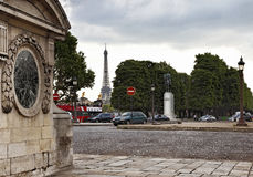 Parisian perspectives Royalty Free Stock Images