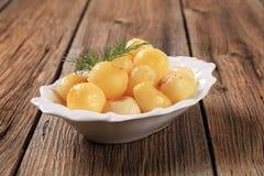 Parisian potatoes (Pommes Parisienne) Stock Images