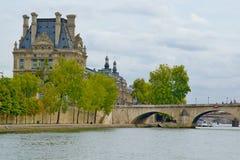 Parisian river view Royalty Free Stock Photography