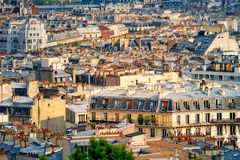 Parisian roofs Stock Photo