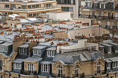 Parisian rooftops Stock Image